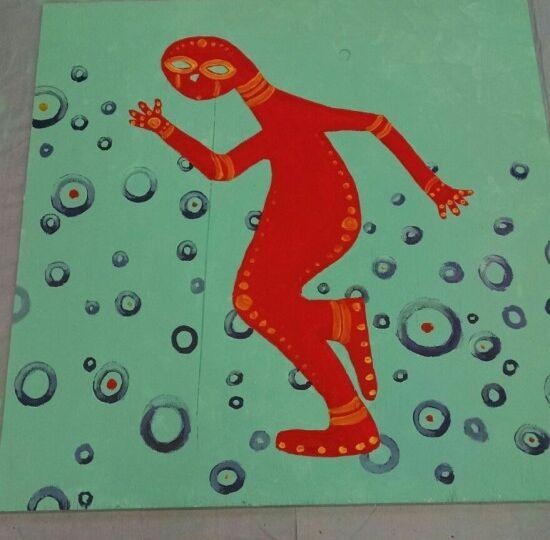mural man