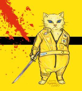 kill bill fat kitty