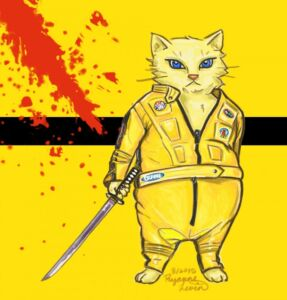 kill bill kitty