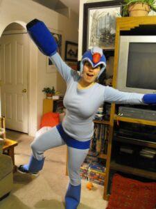 megaman halloween costume