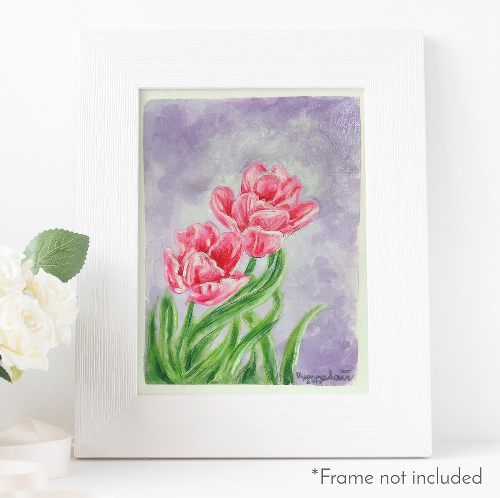 yanne-levin-acrylic-tulips-frame