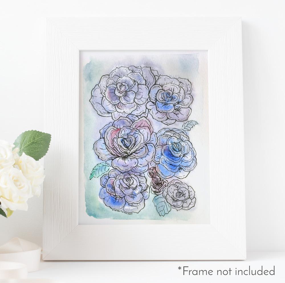 ryanne-levin-dark-blue-rose-frame