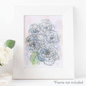 ryanne-levin-light-blue-rose-frame