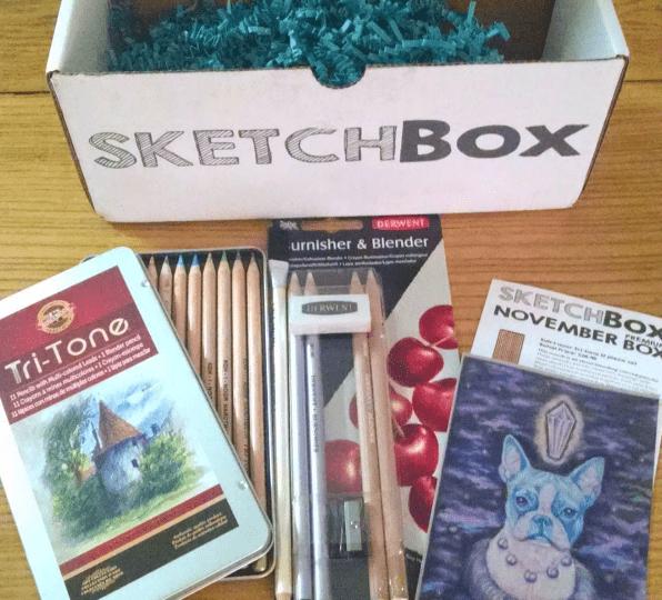 My first sketchbox