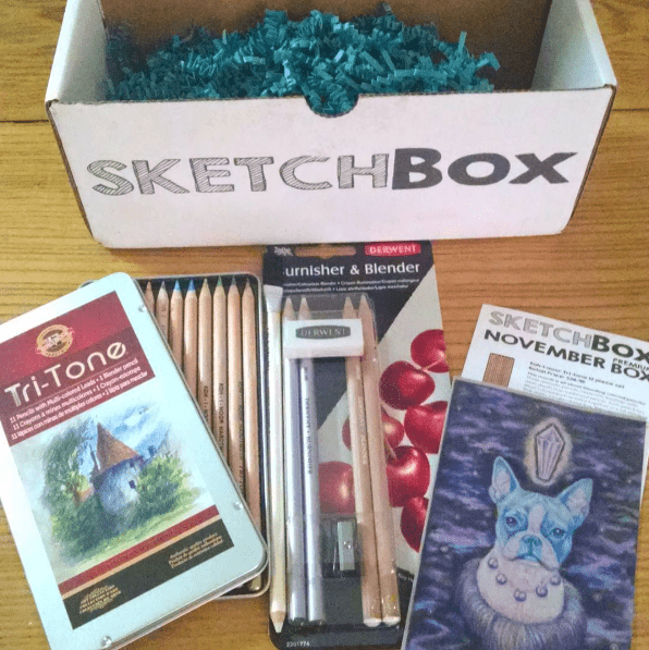 My first sketchbox