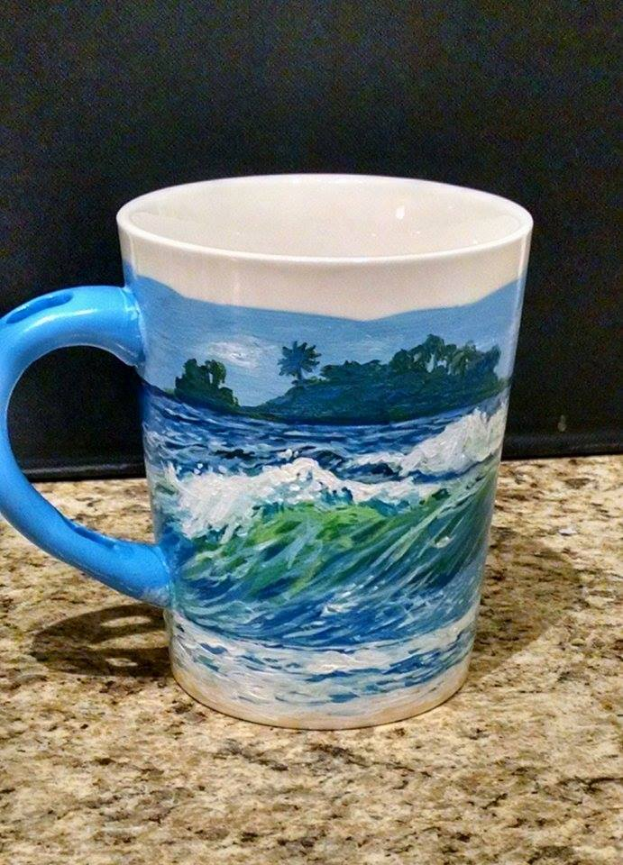 Ocean Mug Painting