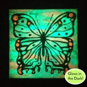 night glow in the dark butterfly ryanne levin
