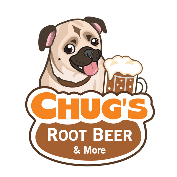 Chug's Root Beer Logo