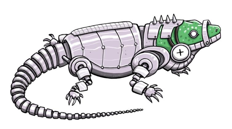 Robo Iguana