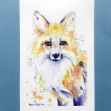 fiery-fox-watercolor-ryanne-levin-art2