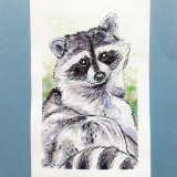 relaxing-raccoon-watercolor-ryanne-levin-art2