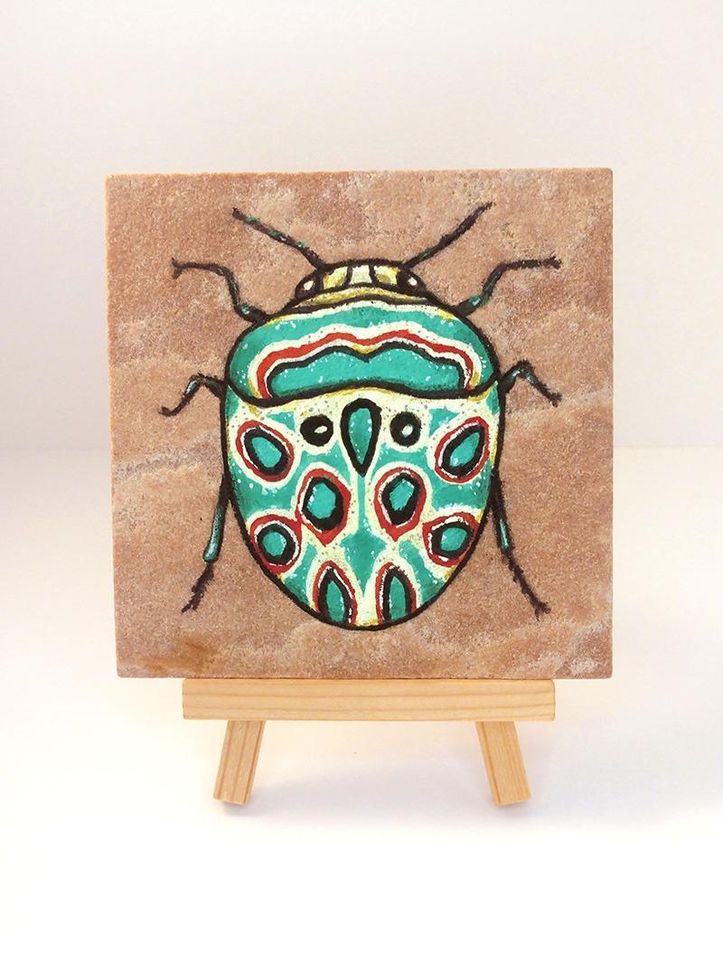 picasso-bug-on-sandstone-ryanne-levin-art