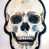 skull-painting-on-wooden-panel-1-of-2-ryanne-levin-art